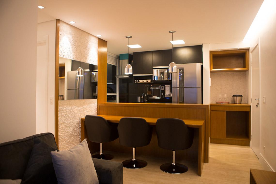 Arquitetura Residêncial – Apartamento Morumbi 60m2 – SP, 2013  Fotos: Felipe Farina