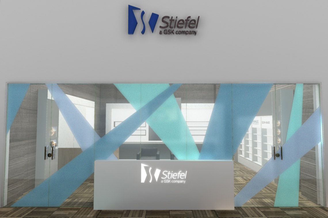 Estande STIEFEL 57m2 – Cong. Bras. de Cirurgia Dermatológica 2013 – Campos do Jordão, SP 3D: Marcio Arruda / Fotos: cliente